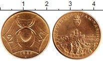 Изображение Монеты Сан-Марино 2 скуди 1986 Золото UNC