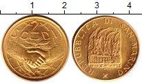 Изображение Монеты Сан-Марино 2 скуди 1988 Золото UNC