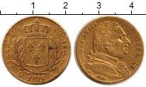 Изображение Монеты Франция 20 франков 1815 Золото VF