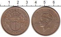 Изображение Монеты Родезия 1/2 кроны 1951 Медно-никель XF Георг VI