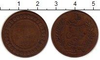 Изображение Монеты Тунис 5 сантим 1891 Бронза VF