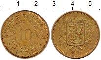 Изображение Монеты Финляндия 10 марок 1930 Латунь XF- Герб Финляндии