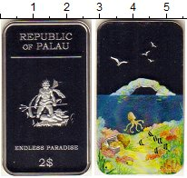 Изображение Монеты Палау 2 доллара 2012 Серебро Proof