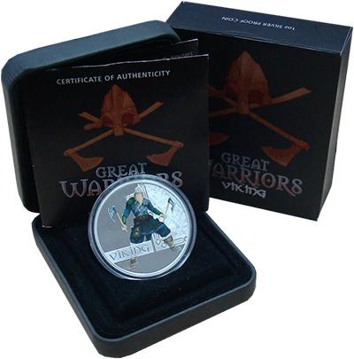 Изображение Монеты Тувалу 1 доллар 2010 Серебро Proof Монеты номиналом 1 д