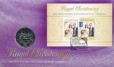 Изображение Подарочные монеты Австралия 50 центов 2013  UNC