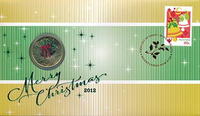 Изображение Подарочные монеты Австралия 1 доллар 2012  UNC Желаем Вам самого ве