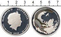 Изображение Монеты Австралия 50 центов 2010 Серебро Proof Животные