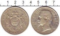 Изображение Монеты Франция 5 франков 1855 Серебро VF