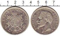 Изображение Монеты Франция 5 франков 1870 Серебро XF