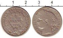 Изображение Монеты Франция 1 франк 1894 Серебро VF
