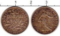 Изображение Монеты Франция 50 сантим 1914 Серебро XF