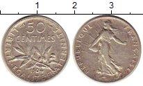Изображение Монеты Франция 50 сантим 1904 Серебро XF