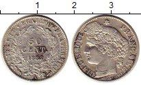 Изображение Монеты Франция 50 сантим 1887 Серебро XF