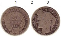 Изображение Монеты Франция 50 сантим 1881 Серебро VF