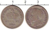 Изображение Монеты Франция 50 сантим 1864 Серебро VF