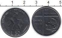 Изображение Монеты Ватикан 50 лир 1973 Сталь UNC-