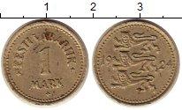 Изображение Монеты Эстония 1 марка 1924 Медно-никель XF
