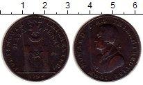 Изображение Монеты Великобритания 1/2 пенни 1794 Медь XF- Токен. Портсмут и Чи