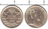 Изображение Монеты Канада 5 центов 1902 Серебро XF