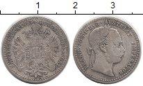Изображение Монеты Австрия 10 крейцеров 1869 Серебро VF
