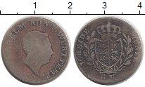 Изображение Монеты Вюртемберг 6 крейцеров 1880 Серебро VF Вильгельм