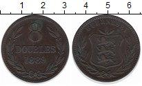 Изображение Монеты Гернси 8 дублей 1889 Медь XF