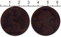 Изображение Монеты Великобритания 1 пенни 1891 Бронза VF