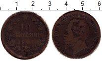 Изображение Монеты Италия 10 чентезимо 1867 Бронза VF