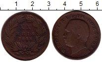 Изображение Монеты Португалия 20 рейс 1883 Медь VF