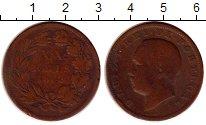 Изображение Монеты Португалия 20 рейс 1882 Медь VF