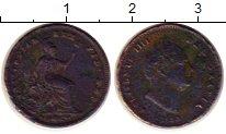 Изображение Монеты Великобритания 1/3 фартинга 1835 Медь VF Вильгельм IIII