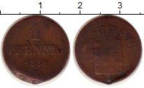 Изображение Монеты Саксония 1 пфенниг 1859 Медь VF