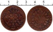 Изображение Монеты Португалия 5 рейс 1797 Медь VF