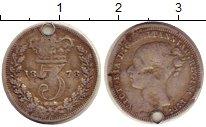Изображение Монеты Великобритания 3 пенса 1878 Серебро VF