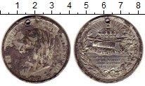 Изображение Монеты Великобритания медаль 1887 Олово VF 50 лет правления Вик