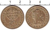 Изображение Монеты Сан-Томе и Принсипи 20 сентаво 1929 Медно-никель XF Португальская колони