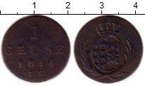 Изображение Монеты Польша 1 грош 1814 Медь VF