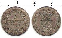 Изображение Монеты Гессен-Дармштадт 3 крейцера 1866 Серебро XF
