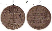 Изображение Монеты Германия Мекленбург-Стрелитц 1/48 талера 1766 Серебро XF-
