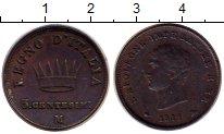 Изображение Монеты Италия 5 сентесим 1811 Медь XF-