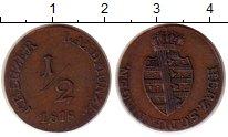 Изображение Монеты Саксен-Майнинген 1/2 крейцера 1818 Медь XF
