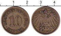 Изображение Монеты Германия 10 пфеннигов 1906 Медно-никель XF-