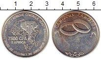 Изображение Монеты Камерун 7500 франков 2006 Посеребрение UNC-