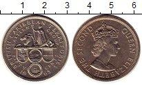 Изображение Монеты Карибы 50 центов 1965 Медно-никель XF