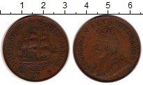 Изображение Монеты ЮАР 1 пенни 1935 Бронза XF