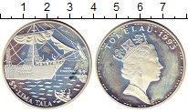 Изображение Монеты Токелау 5 тала 1993 Серебро Proof-
