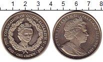 Изображение Монеты Фолклендские острова 1 крона 2013 Медно-никель UNC- 60 лет коронации Ели