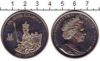 Изображение Монеты Великобритания Фолклендские острова 1 крона 2015 Медно-никель UNC-