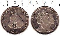 Изображение Монеты Великобритания Фолклендские острова 1 крона 2012 Медно-никель UNC-