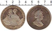 Изображение Монеты Новая Зеландия Острова Кука 1 доллар 2007 Медно-никель UNC-
